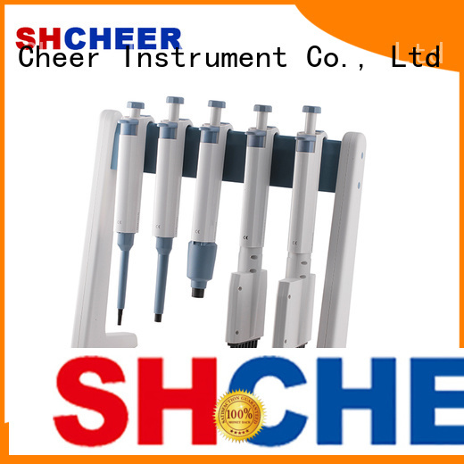 Cheer adjustable micropipette stand machine clinical diagnostics