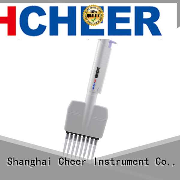 Cheer digital multichannel micropipette equipment clinical diagnostics
