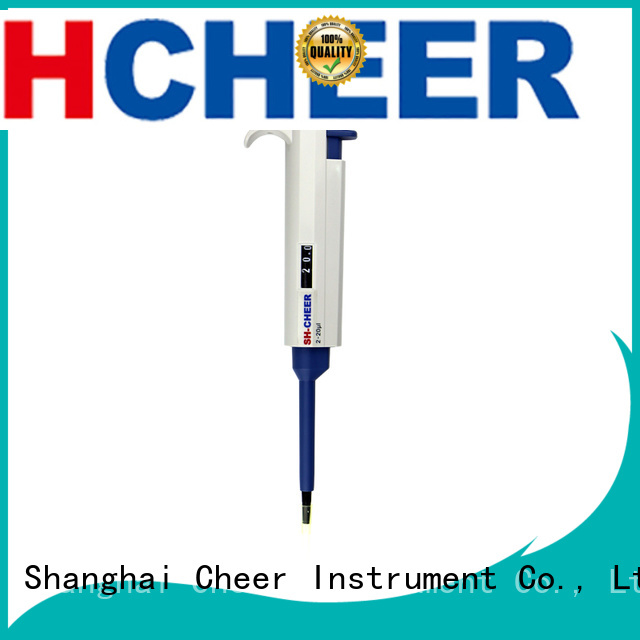 Cheer single use pipette for lab instrument