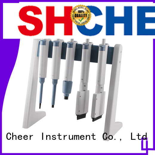 Cheer digital micropipette stand supplier in laboratory