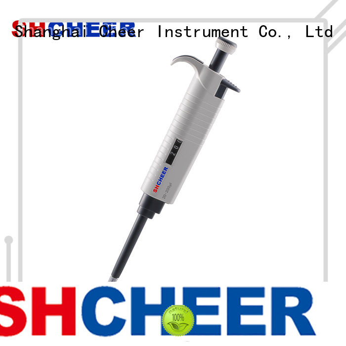 Cheer single channel electronic pipette supplier biochemistry