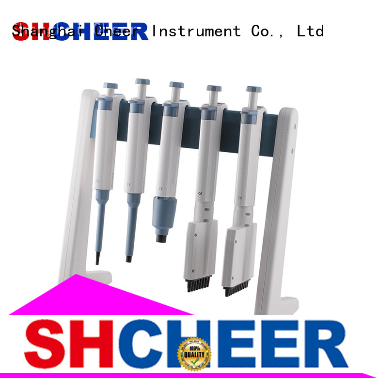 adjustable micropipette stand machine for lab instrument