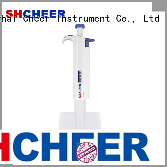 Cheer electric multichannel micropipette supplier hospital