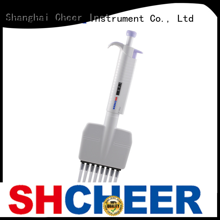 Cheer electric best multichannel pipette equipment clinical diagnostics