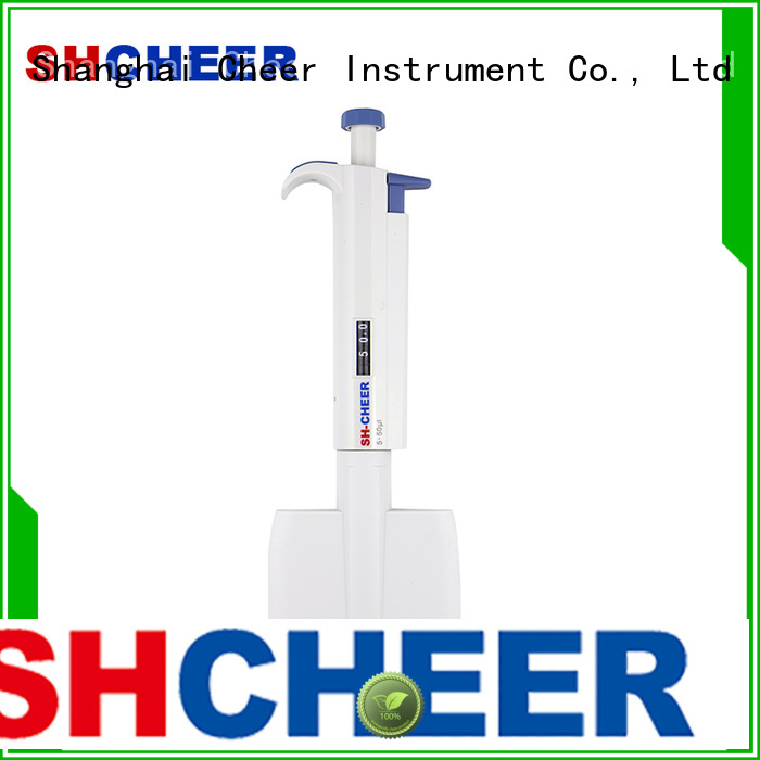 Cheer multichannel micropipette products in laboratory