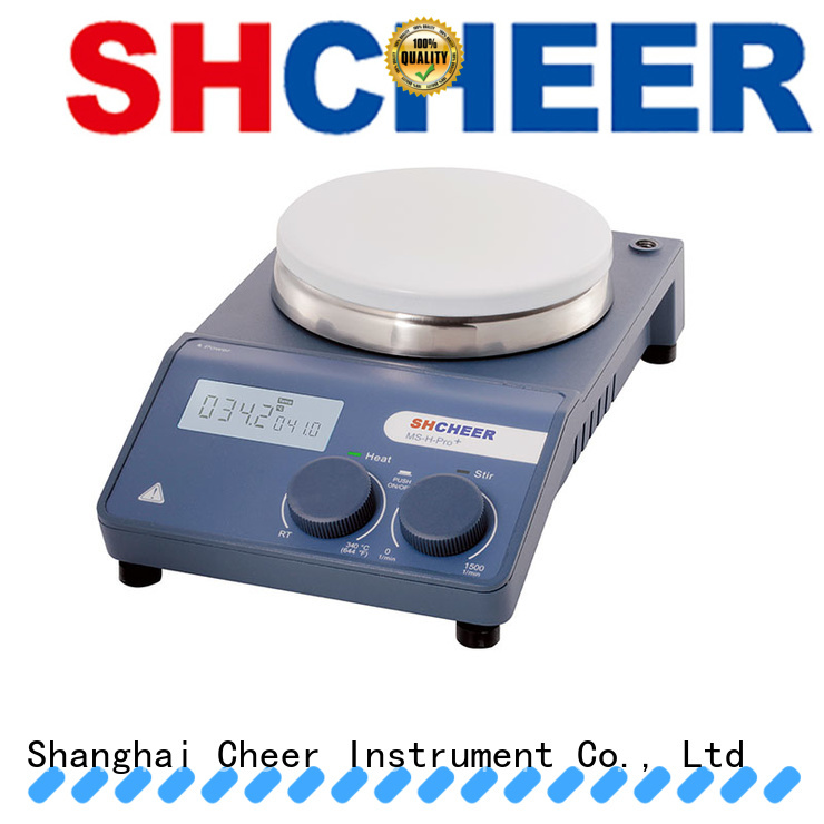 Cheer best hot plate stirrer machine On Biomedicine