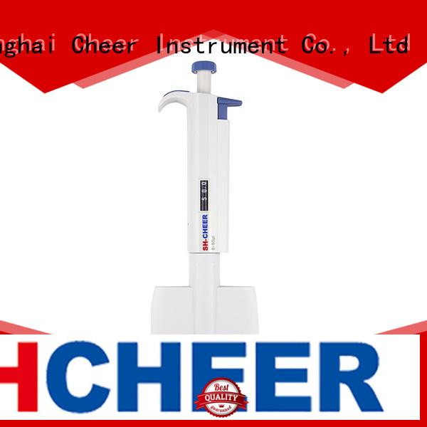 Cheer electric multichannel micropipette supplier clinical diagnostics