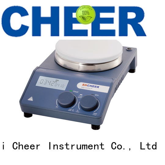 Cheer magnetic hotplate stirrer equipment in laboratory