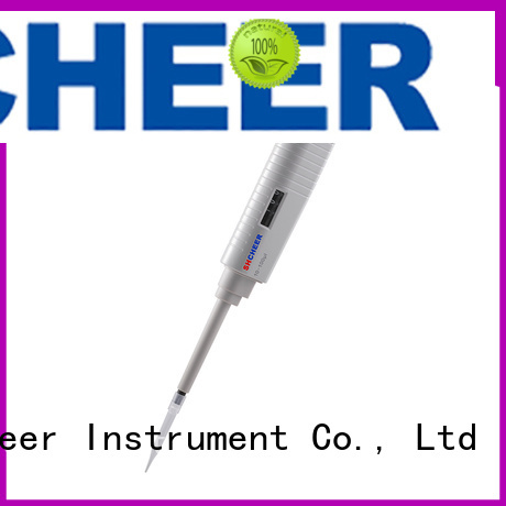 Cheer single channel micropipette for lab instrument