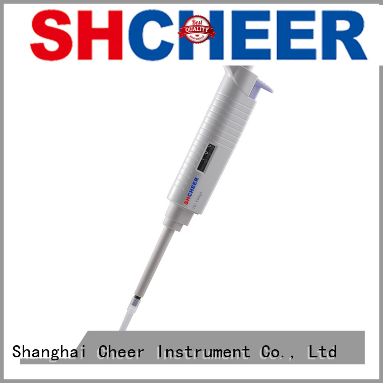 Cheer single channel micropipette products for lab instrument