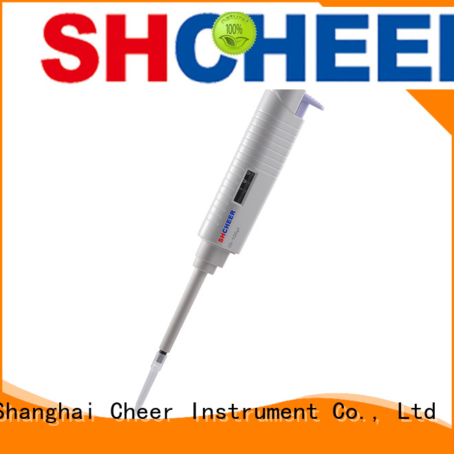 Cheer variable lab pipette in laboratory