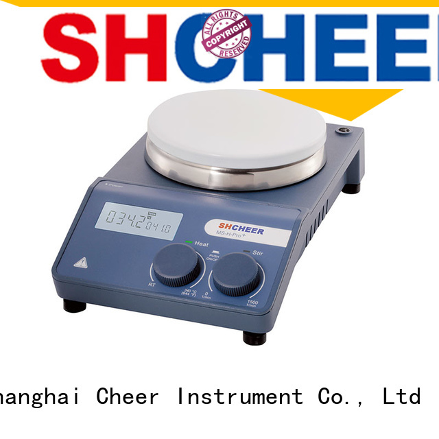 Cheer adjustable laboratory stirrer manufacturers machine in laboratory