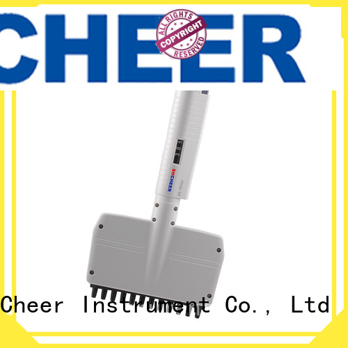 Cheer adjustable multichannel micropipette products On Biomedicine