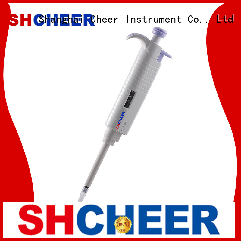Cheer digital single channel electronic pipette machine in laboratory