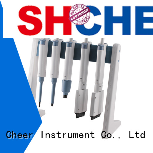 Cheer micropipette stand supplier for lab instrument