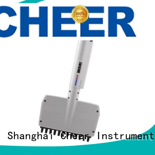 Cheer digital multichannel micropipette equipment hospital