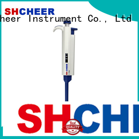Cheer variable fixed volume pipette machine in laboratory