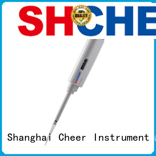 Cheer variable digital micropipette for lab instrument