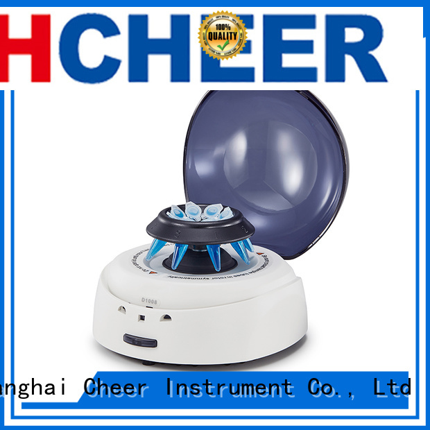 Cheer micro centrifuge in laboratory