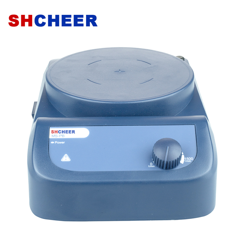 Lab Magnetic Stirrer With Strong Magnetism Scale Controlling Max Speed 1500rpm MS-PB