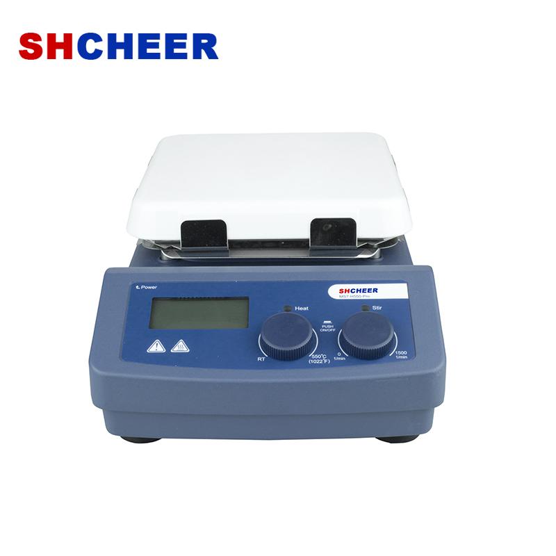 Magnetic hotplate stirrer with temperature sensor MS7-H550-Pro