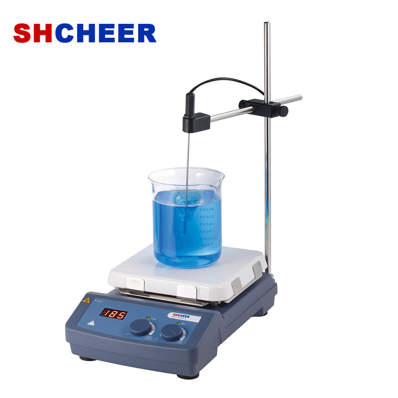 Hot Plate And Stirrer With LED Display 550℃ MS-H550-S