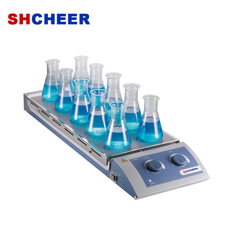 bottle top liquid dispenser & hotplate stirrer