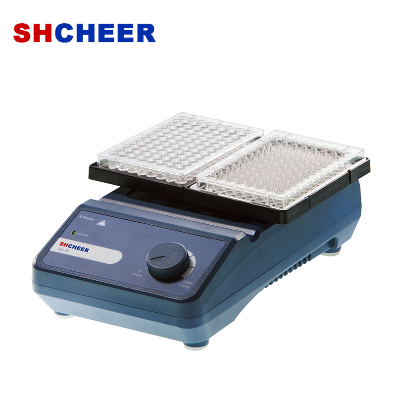 Microplate mixer for single and double microplate MX-M