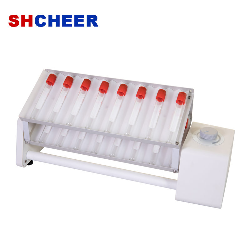 Rocking rotator with long deck double layer for blood vessels 5-50ml SK-R30L-E