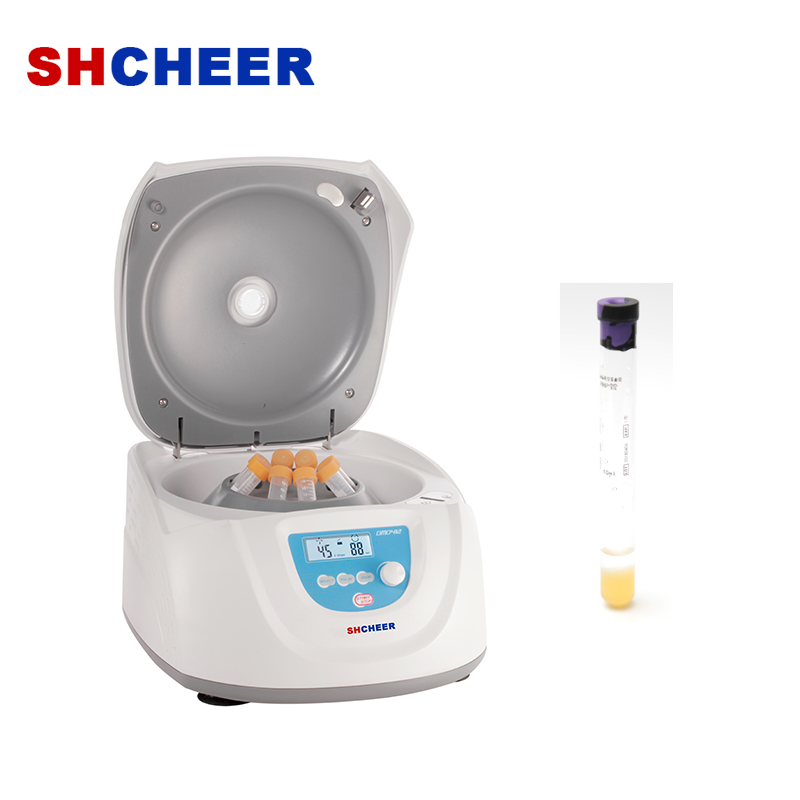 Clinical low speed centrifuge with LCD display adjustable speed DM0412