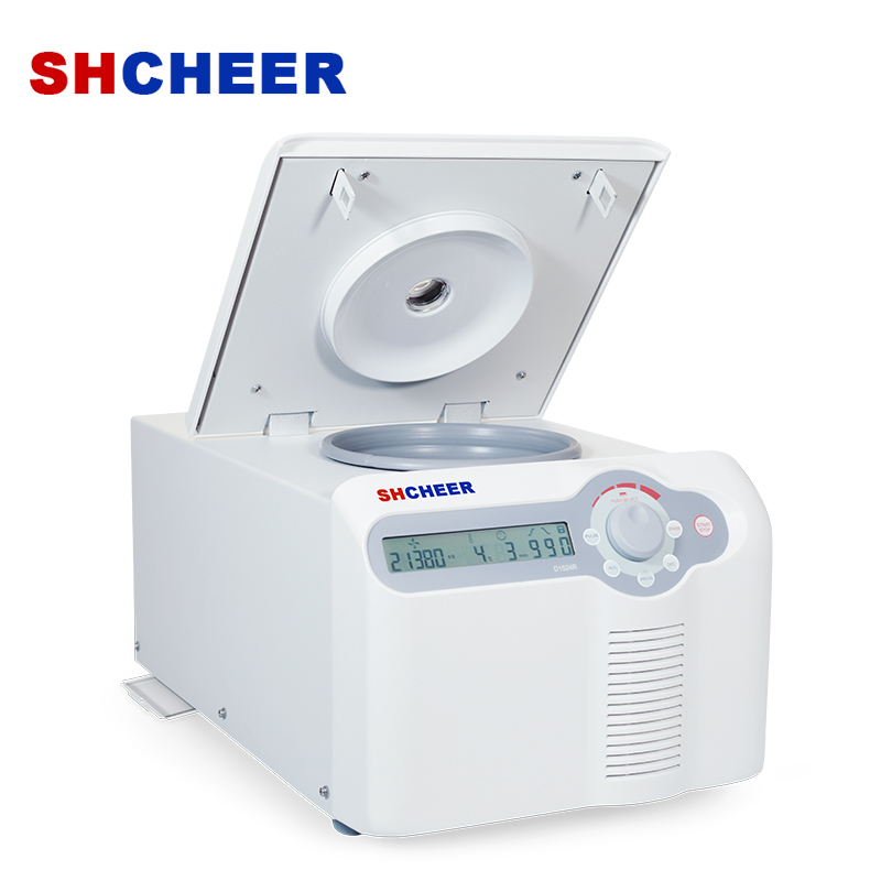 Refrigerated micro centrifuge with powerful cooling system D1524R