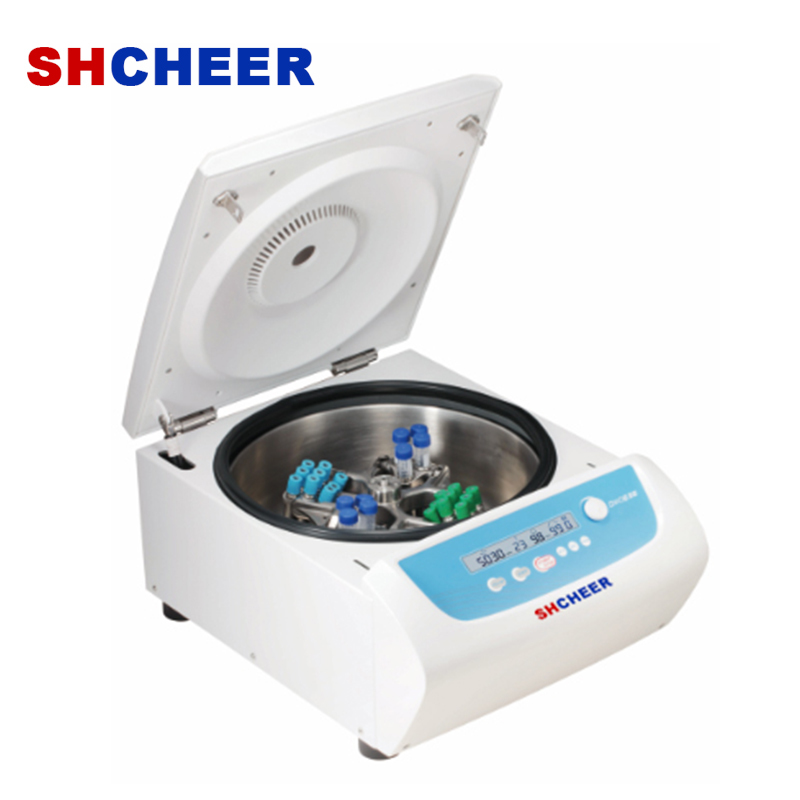 clinical low speed centrifuge with swing bucket rotor for large capcaity DM0636