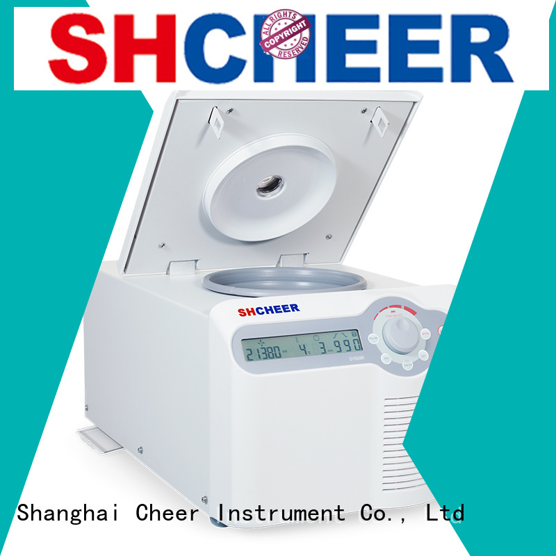 Cheer adjustable high speed refrigerated centrifuge equipment medical industry