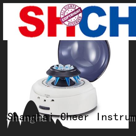 Cheer automatic micro centrifuge in laboratory