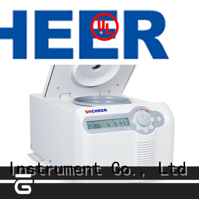 digital centrifuge refrigerated products in laboratory