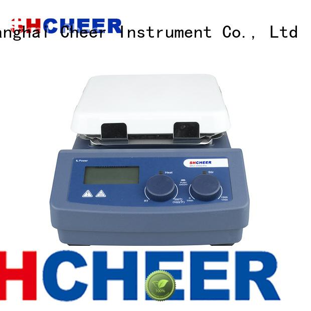 magnetic best hot plate stirrer machine medical industry