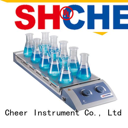 electric magnetic hotplate stirrer machine biochemistry