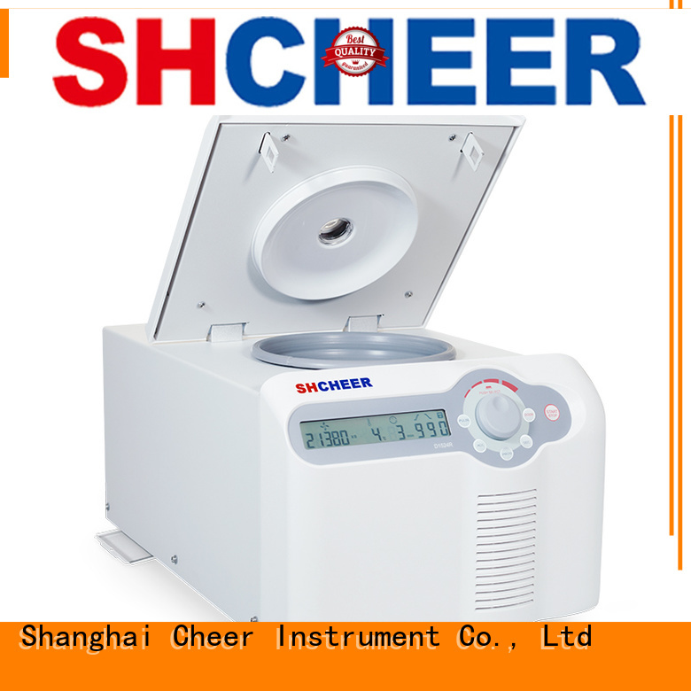 Cheer centrifuge refrigerated machine in laboratory