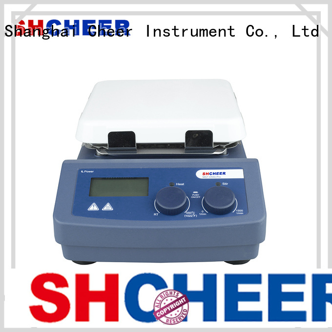 Cheer electric magnetic hotplate stirrer machine hospital