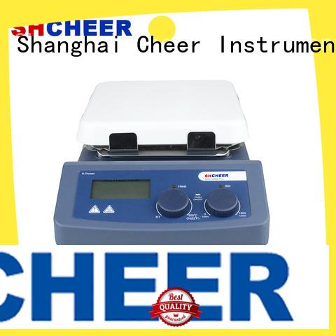 Cheer digital hotplate stirrer equipment hospital