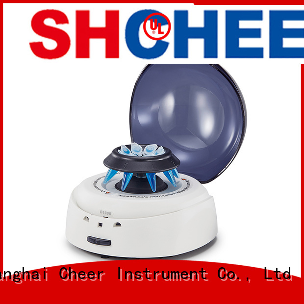 Cheer adjustable portable centrifuge supplier in laboratory