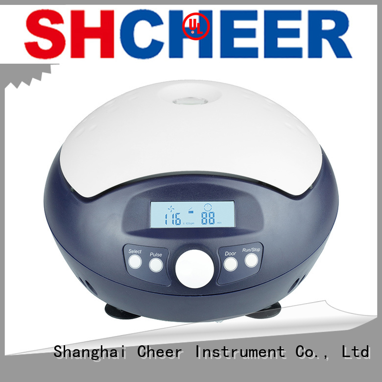 variable micro centrifuge machine medical industry