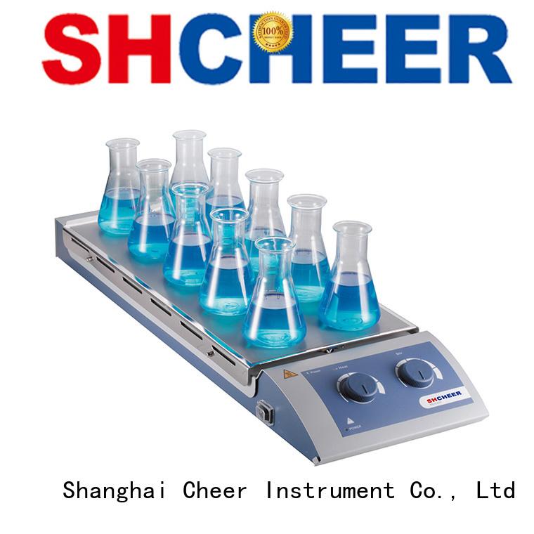 electric digital hotplate stirrer equipment in laboratory