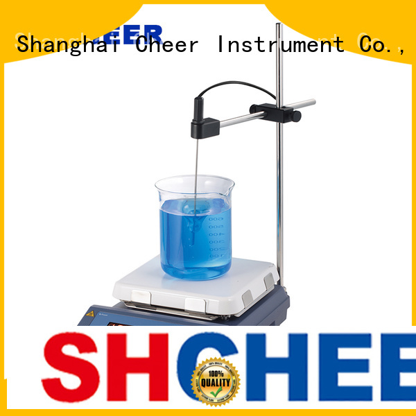 Cheer adjustable magnetic hotplate stirrer supplier in laboratory