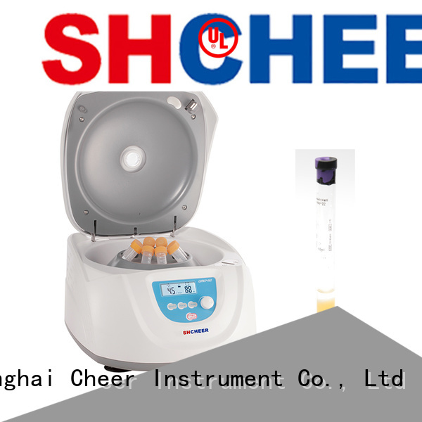 electric centrifuge prf equipment in laboratory