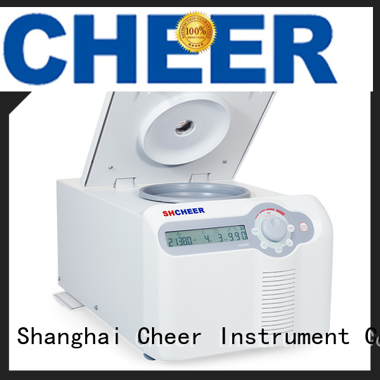 Cheer electric high speed refrigerated centrifuge equipment for lab instrument