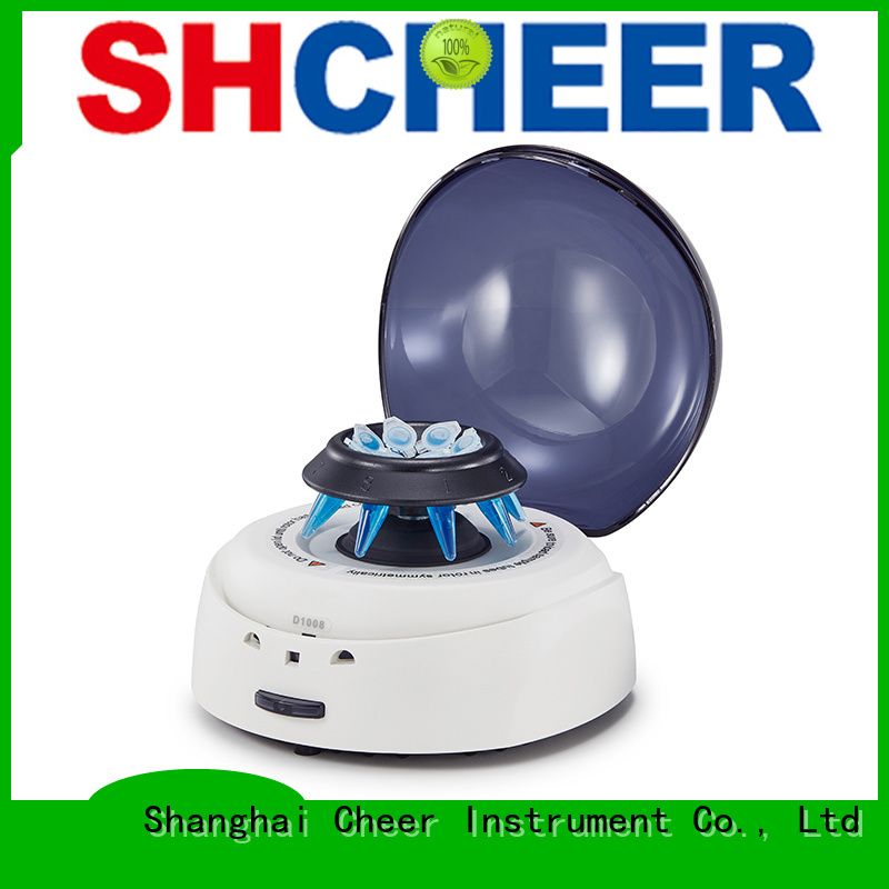 Cheer digital micro centrifuge supplier medical industry