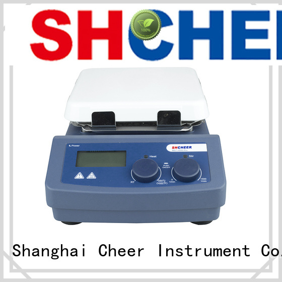 Cheer adjustable magnetic hotplate stirrer products On Biomedicine