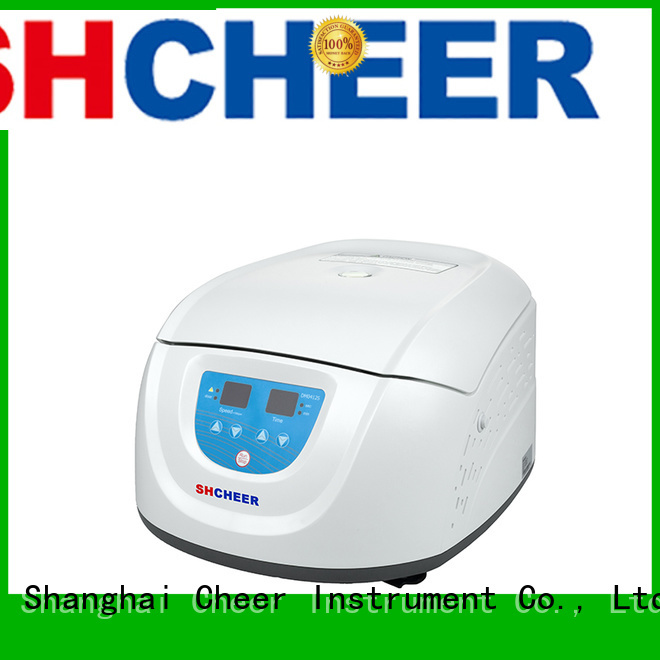 multichannel prp centrifuge machine equipment in laboratory