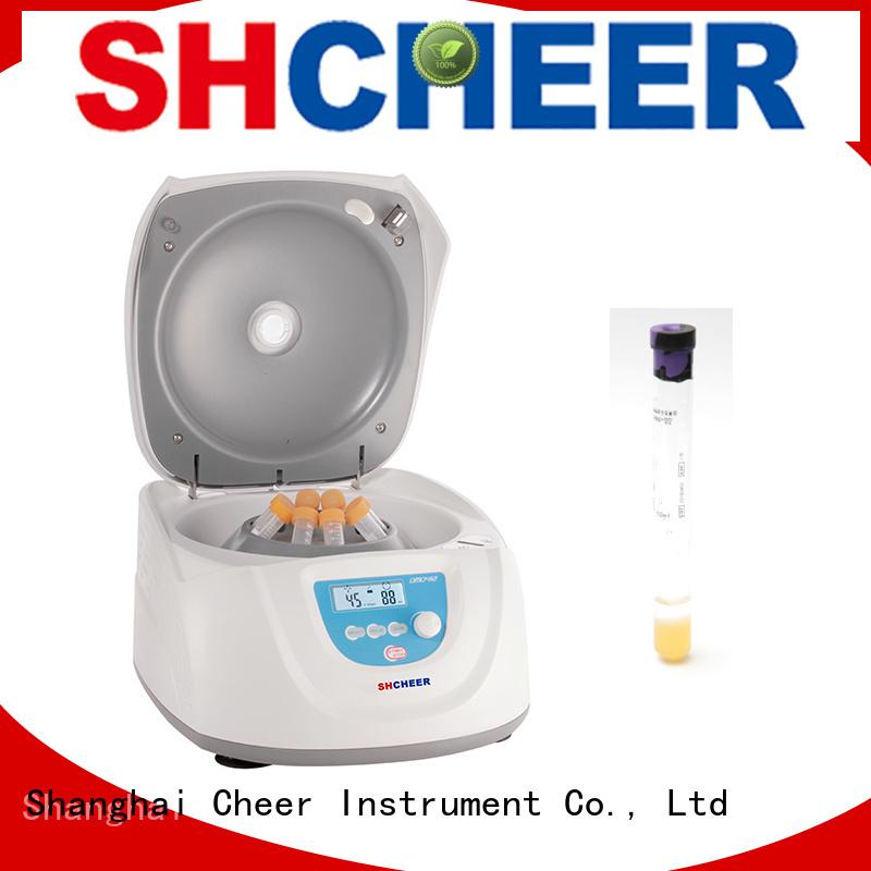 Cheer digital prp centrifuge machine supplier in laboratory